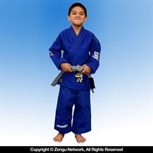 Manto Select Children's Blue BJJ Gi